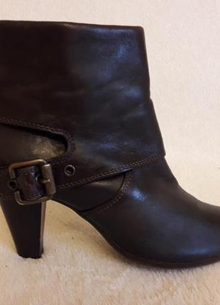 Кожаные деми ботинки фирмы 5th avenue p. 37-38 стелька 24 08fe28c47620c