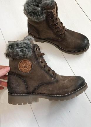 Ботинки dockers зима 37р
