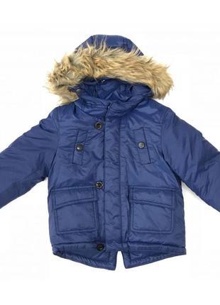 Новая зимняя синяя куртка, idexe, 9706400