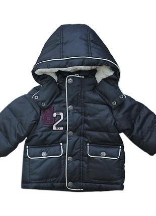 Новая зимняя куртка на флисе для мальчика, ovs kids, 6255595