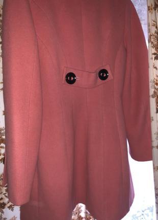 Классное пальто в цвете персик 🍑