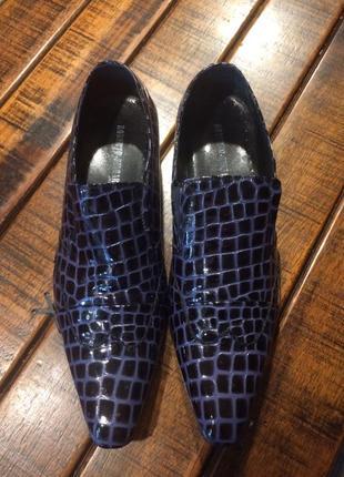 Невероятные туфли roberto - zingarini ,42 р.