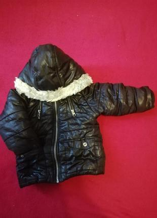 Детская тёплая курточка kibmaloo