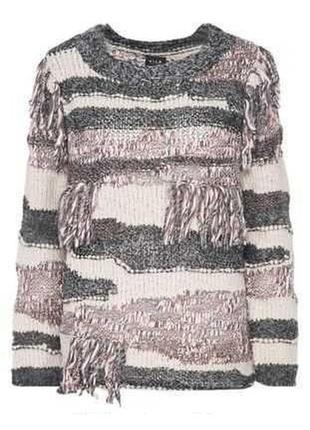 Необычный теплый свитер от vila