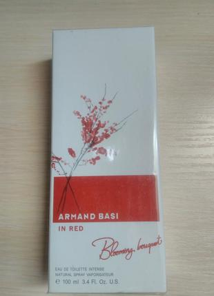 Armand basi in red blooming boquet 100мл премьера 2015