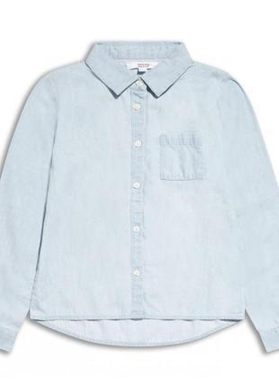 Новая джинсовая рубашка для девочки, sugar squad, 121327
