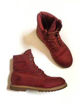 Ботинки timberland, кожаные оригинал, сапоги