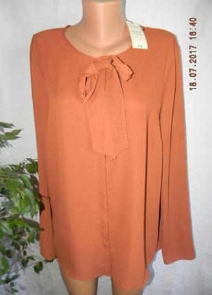 Нарядная новая блуза большого размера papaya