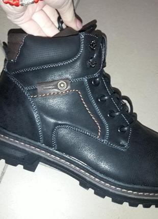 40-45 мужские зимние ботинки классик зима на меху мягком чоловічі ботинки зимові спорт