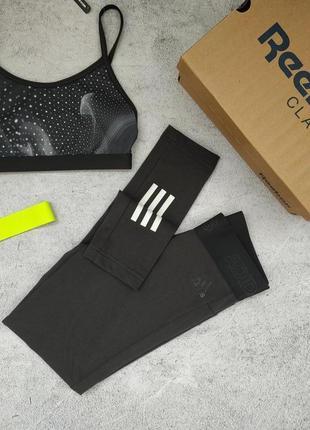 Спортивные лосины леггинсы adidas xs