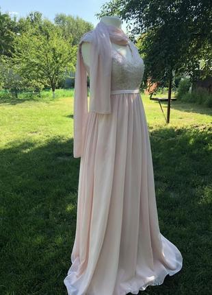 Изумительное свадебное платье unique