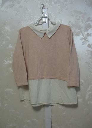 Нежная блуза-джемпер с большим содержанием вискозы atmosphere