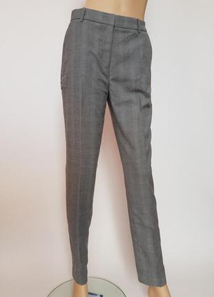 Костюмные брюки, 36р (s), полиэстер 64%; вискоза 34%; эластан 2%