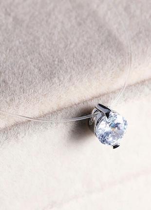 Новое шикарное украшение микродермал камешек на леске кристалл