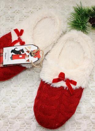 Тапочки теплые slippers. р. 35-36. англия
