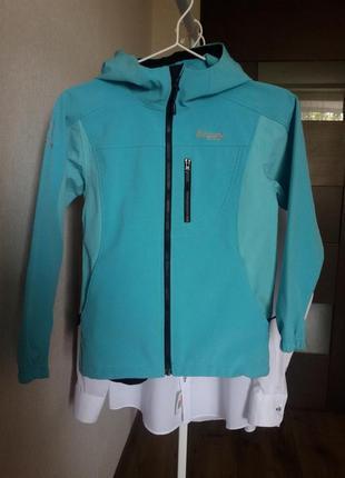 Куртка лыжная 140 см bergans норвегия