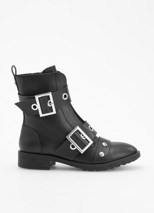 Ботинки в стиле милитари, 36-40