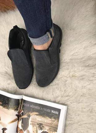 Замшевые туфли cotton traders
