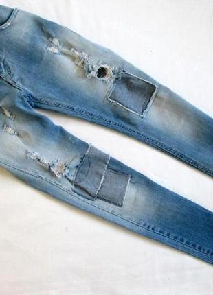 Risskio/итальянские брендовые джинсы скини/made in italy