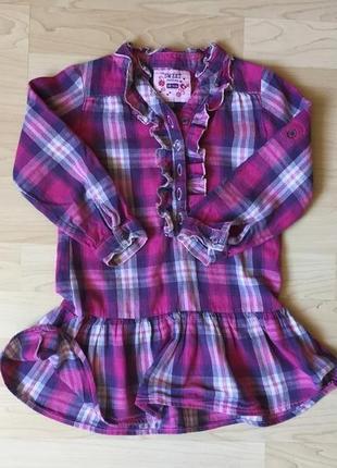 Рубашка туника 3-5 лет