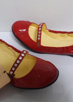 Cesare paciotti италия лаковые красные туфли балетки