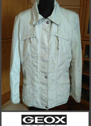 Женственная куртка ветровка geox xl