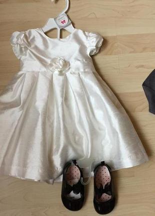 Платье carters на 1-2 года