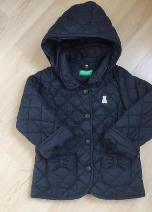 Курточка стеганная  benetton 12-24