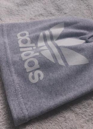 Шапка дитяча adidas сіра (детская серая)