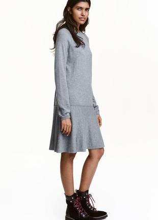 Платье тонкой вязки h&m