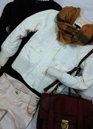 Короткая демисезонная куртка от tommy hilfiger, рост 146-152см