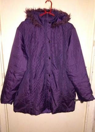 Демисезонная,утеплённая,лёгкая куртка на синтепоне,большого размера и 90%одежды батал