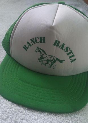 Кепка бейсболка ranch bastia [італія] шапка-реперка