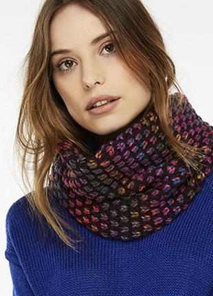 Снуд/меланжевый шарф-хомут reserved