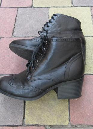 Ботинки new look натуральная кожа