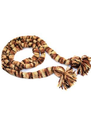 Стильный длинный шарф monton с добавлением шерсти