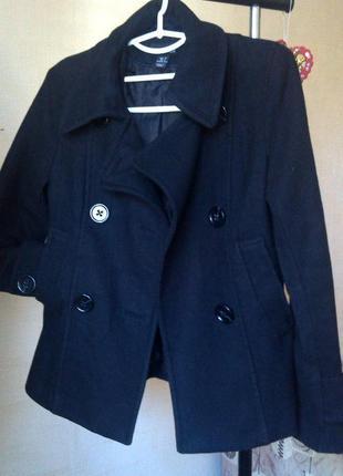 Пальто плащ (шерсть 60%)