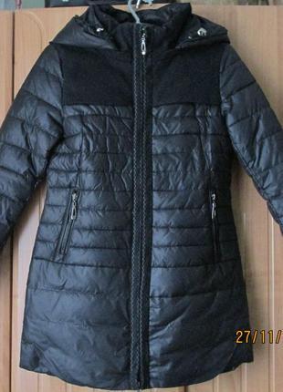 Куртка - пуховик  демисезон -еврозима / курточка парка пальто теплая молодежная