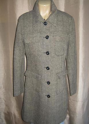 """Классическое твидовое пальто """"street one"""", германия."""