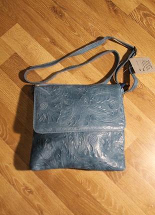 Сумка donatella bag натуральна шкіра. італія