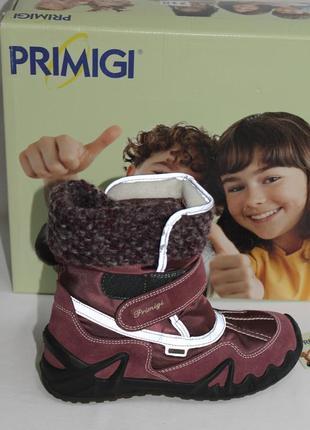 Зимние сапоги primigi размер 35 по стельке 22,7 см