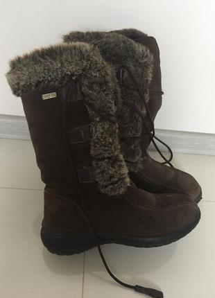 Зимние ботинки geox 36р