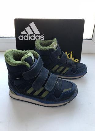 Adidas зимние ботинки сапожки кроссовки 24-размер