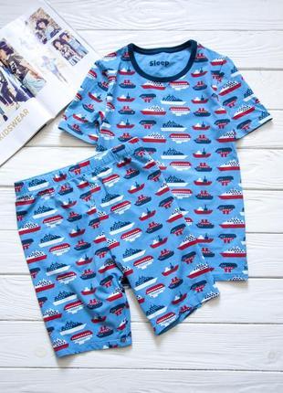Пижама от m&s летний набор футболка шорты