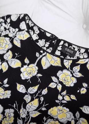 Плотная ткань, базовое платье футляр, очень красивый цветочный принт4
