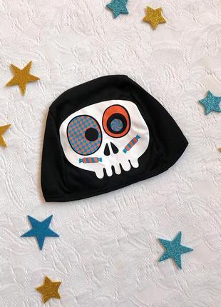 Шапочка с черепом george, 1-1,5 года, 80-86 см, хэллоуин, halloween