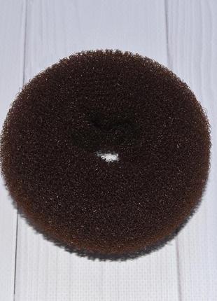 Кольцо, валик, спонж, донат, пончик, бублик для гульки, для волос, объемного пучка