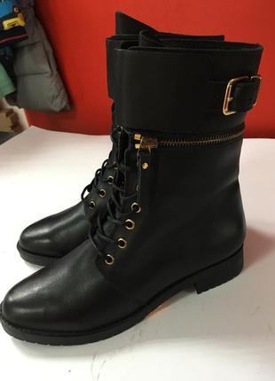 Демисезонные женские ботинки andre р-38 стелька 24,5 см