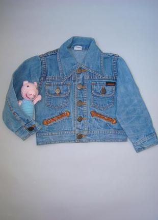 Джинсовая куртка\пиджак\жакет на 2-3 года