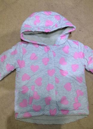 Курточка на девочку на 1 годик